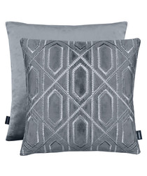 Chelsea grey cushion 43cm