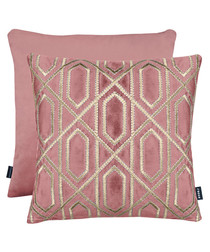 Chelsea rose cushion 43cm