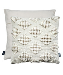 Tranquil cream cushion 43cm