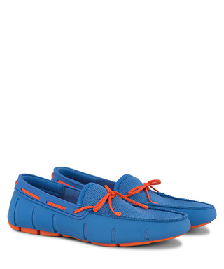 f6593881525 blue   orange braided loafers Sale - swims Sale