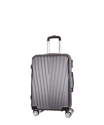3pc lorca grey suitcase set