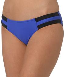 Block Party blue hipster bikini briefs