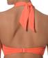 Orange halterneck bandeau bikini top Sale - seafolly Sale