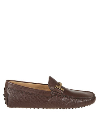 9e5ea063a01 brown leather horsebit loafers Sale - tod s Sale