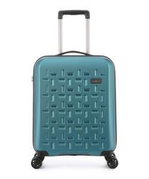 Richmond teal spinner suitcase 55cm