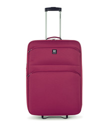 Kos red upright suitcase 66cm
