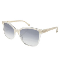 Clear & light blue lens sunglasses