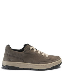 Fontana taupe suede sneakers