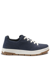 Fontana blue suede sneakers