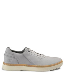 Naselle light grey lace-up sneakers