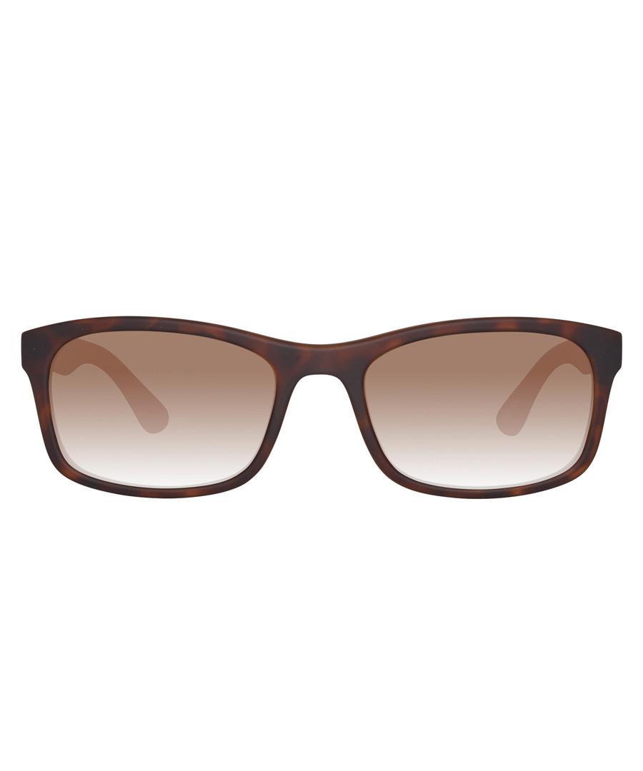 Havana & orange sunglasses Sale - ted baker