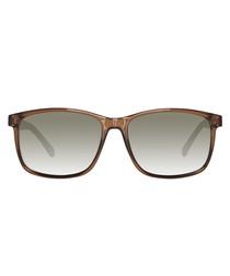 Brown lens & frame sunglasses