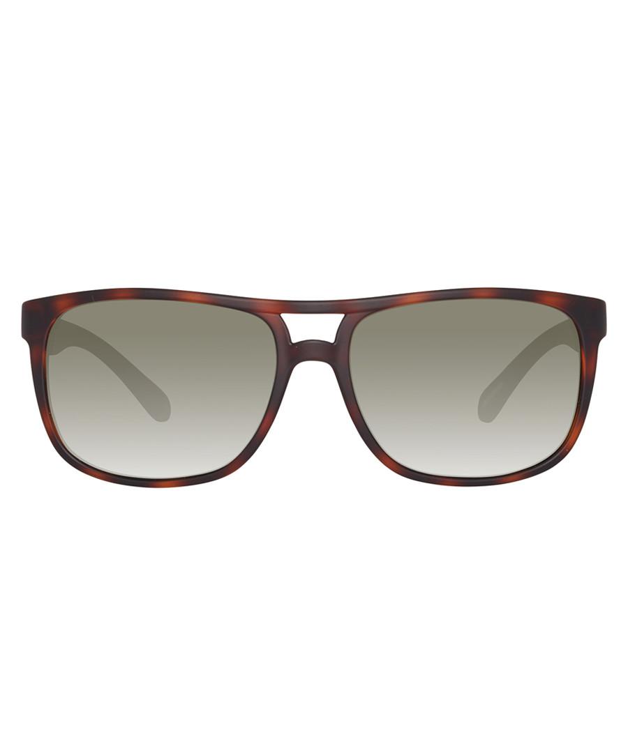 Havana & grey sunglasses Sale - ted baker