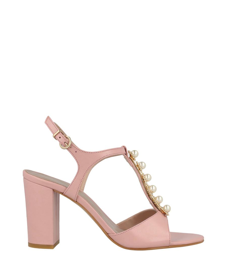 Rose block heel sandals Sale - roberto botella
