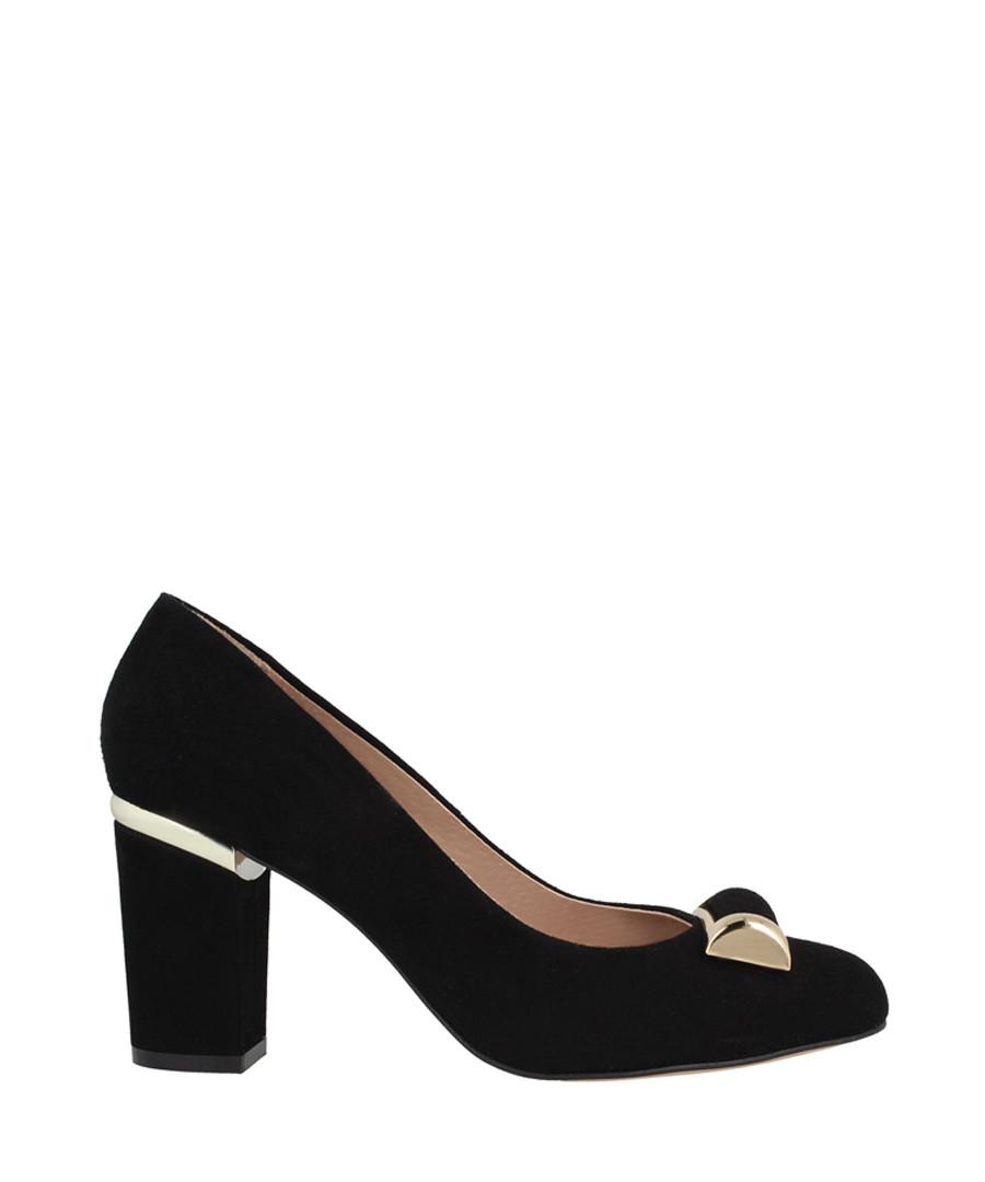 Black pendant block heels Sale - roberto botella