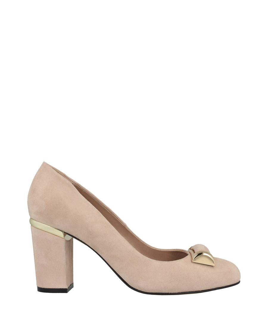 Old rose pendant block heels Sale - roberto botella