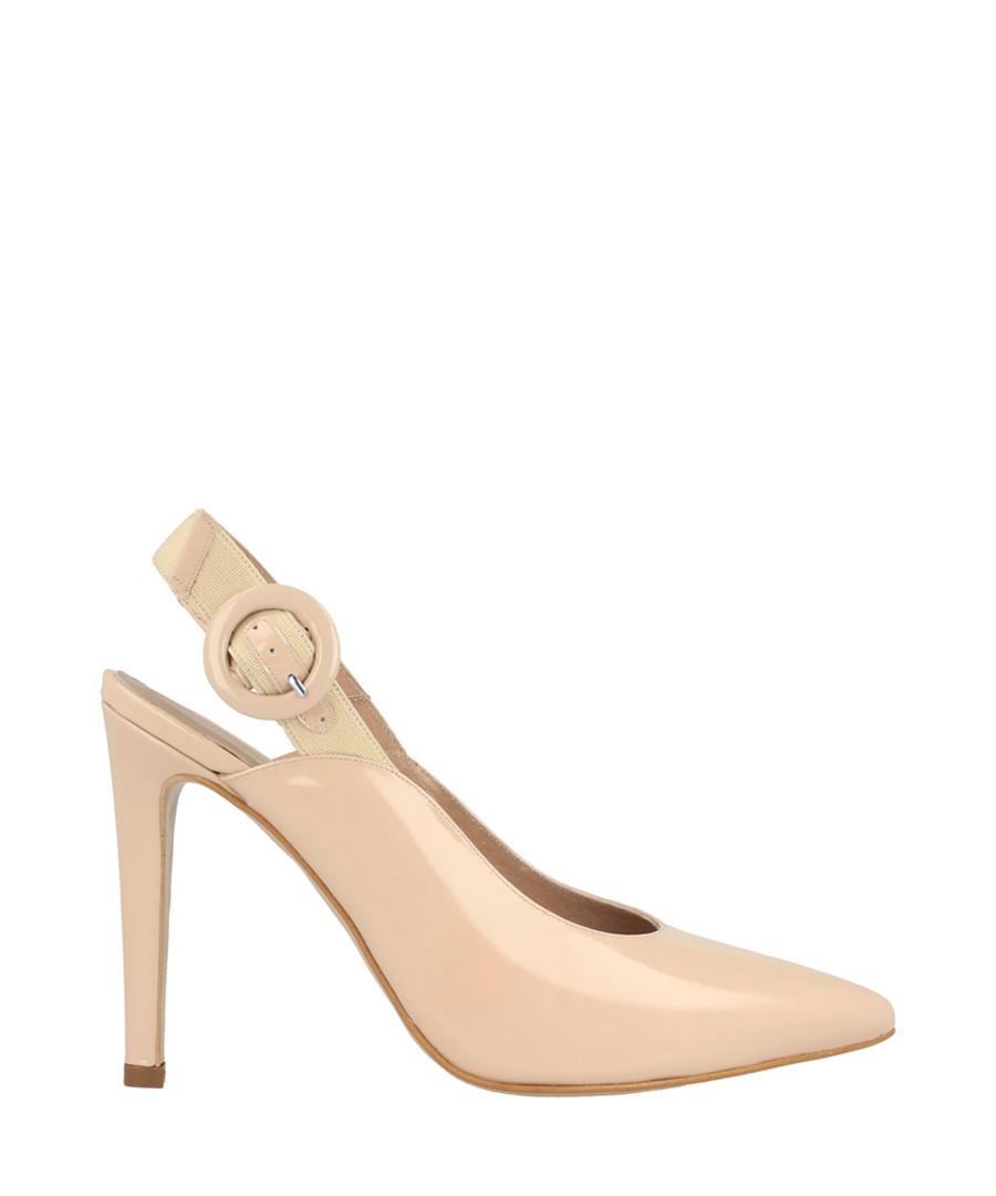 Beige slingback stiletto heels Sale - roberto botella