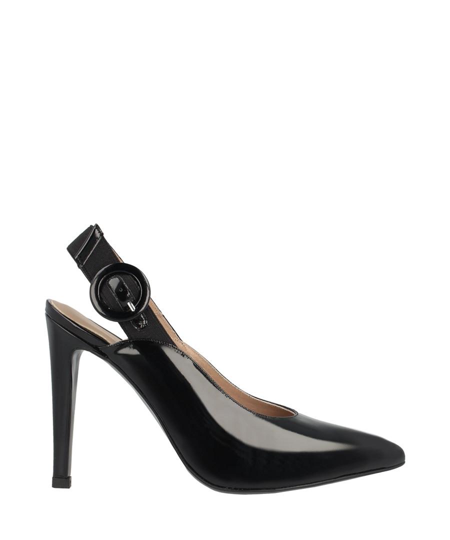 Black slingback stiletto heels Sale - roberto botella