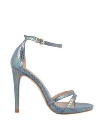 Sky scale stiletto heels