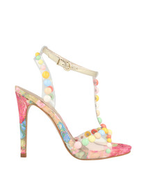 Candy embellished stilettos