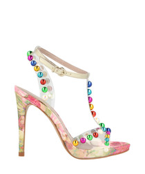 Candy embellished bauble stilettos