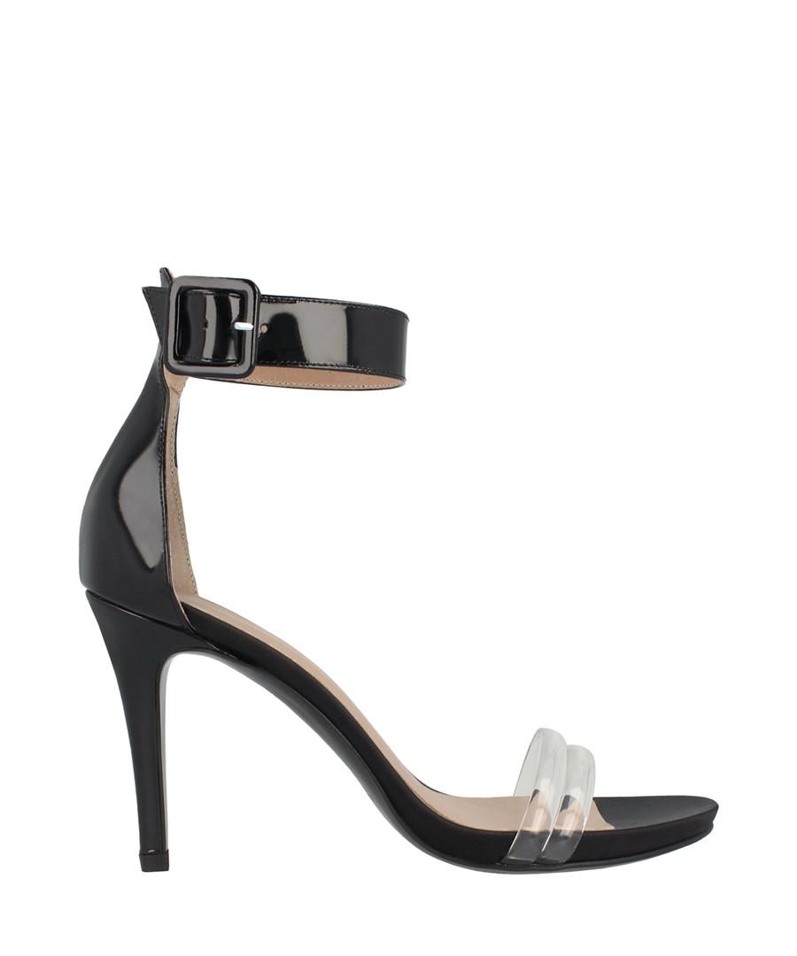 Black ankle strap mid heels Sale - roberto botella