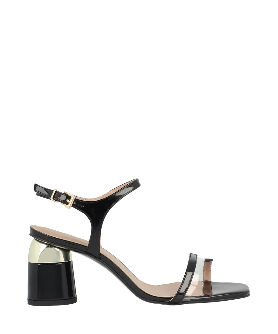 Black block heel sandals Sale - roberto botella