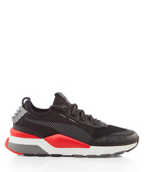 RS-0 PLAY black & red sneakers