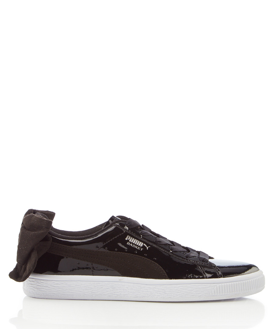 Basket Bow black leather sneakers Sale - puma