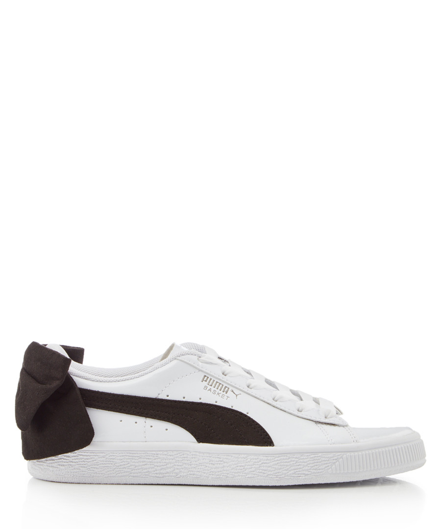 Basket Bow white leather sneakers Sale - puma