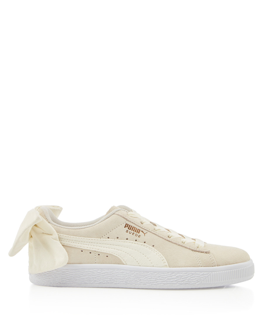 Bow chalk suede sneakers Sale - puma
