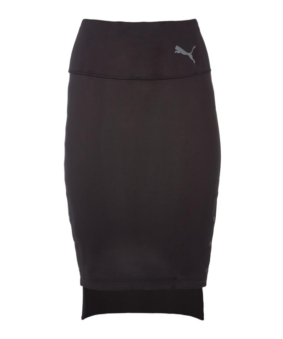 x SG black cotton stretch skirt Sale - puma