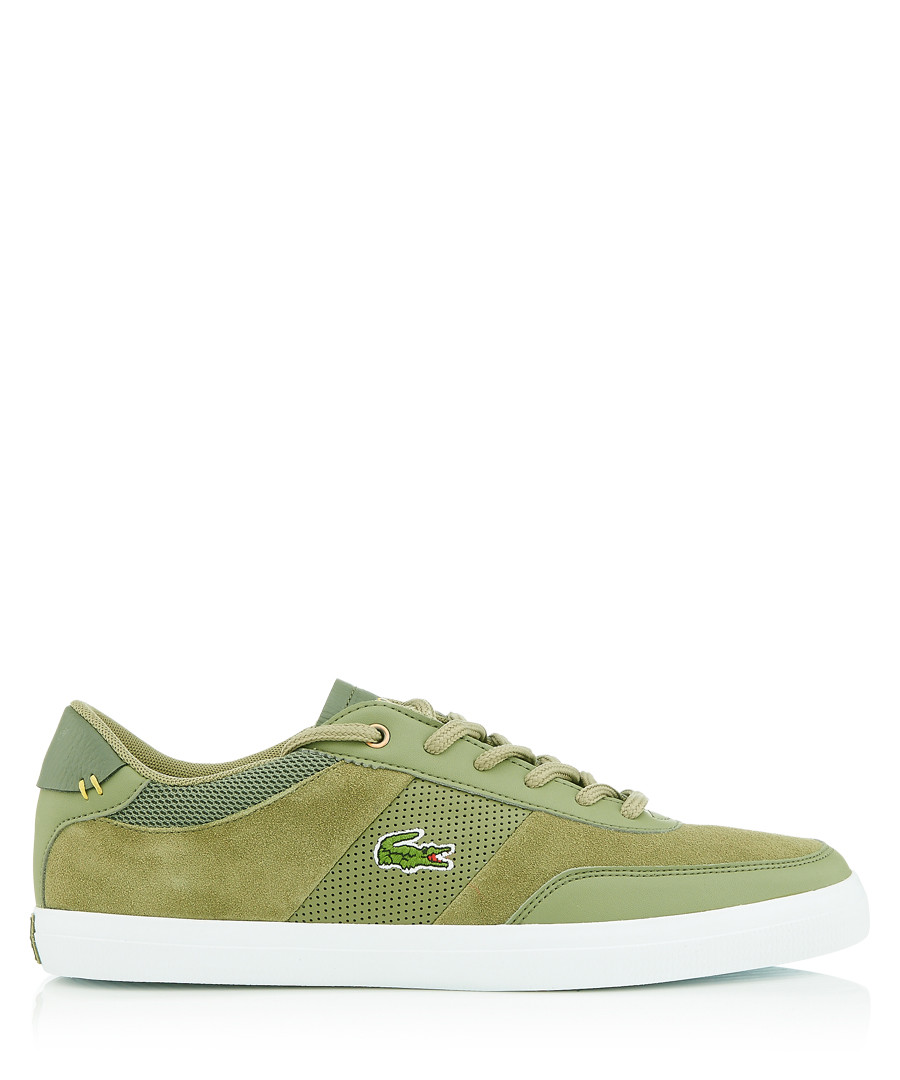 Courtmaster khaki sneakers Sale - lacoste