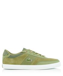 Courtmaster khaki sneakers