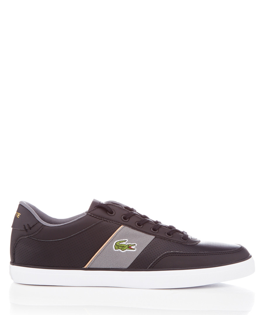 Courtmaster black sneakers Sale - lacoste