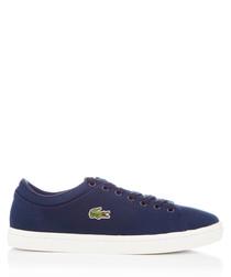 Ziane navy textile sneakers
