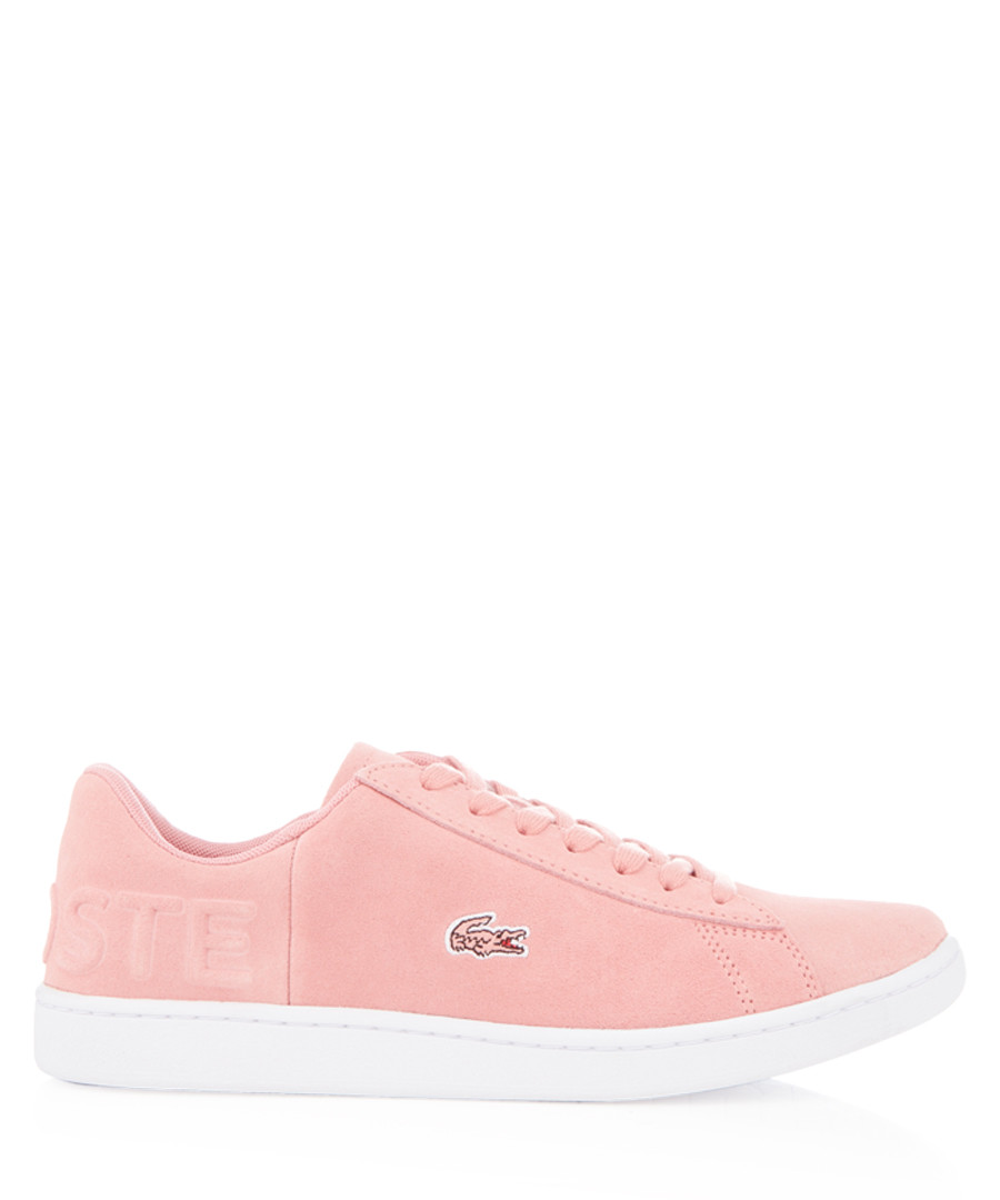 Carnaby rose suede sneakers Sale - lacoste