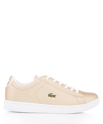 Canaby Evo gold-tone sneakers