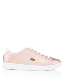 Carnaby Evo rose metallic sneakers