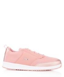 Rose panel sneakers