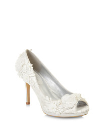Bianca chalk embellished court heels