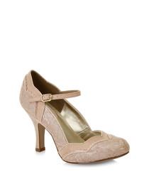 Imogen rose strap court heels
