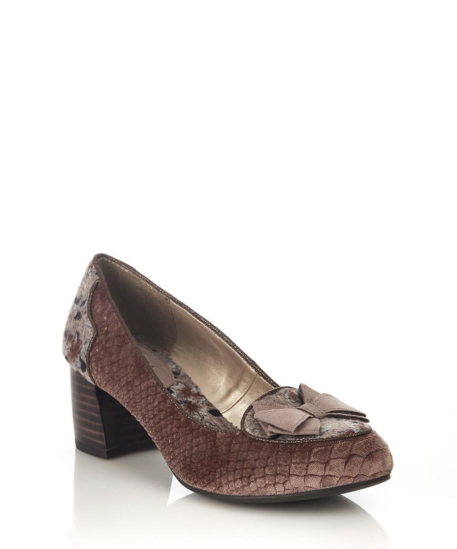 Thalia oyster block court heels Sale - ruby shoo