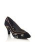 Daphne black floral court heels Sale - ruby shoo Sale