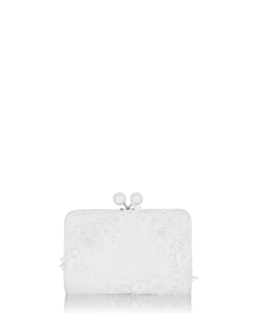 Riga chalk clasp clutch bag Sale - ruby shoo