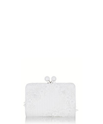 Riga chalk clasp clutch bag