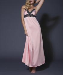 Jemima pink long chemise