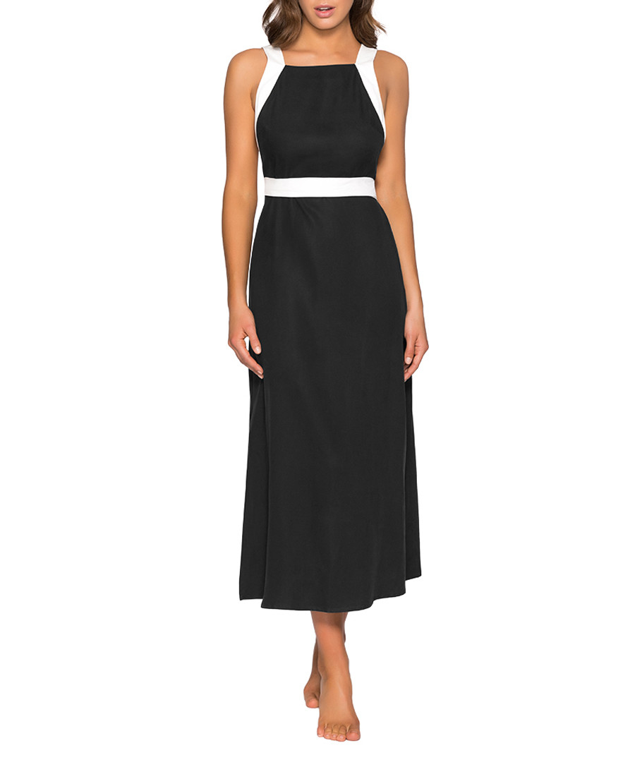Classique black maxi band dress Sale - Jets