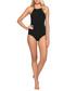 Parallels black swimsuit Sale - JETS Sale