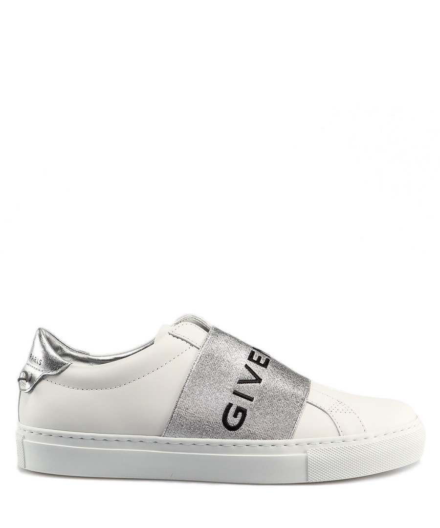 Urban Street silver strap sneakers Sale - givenchy